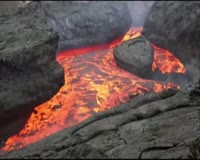 waptrick.com Raw - Lava Flows From Russian Volcano