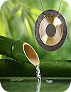 Water and Gong Relaxing Sounds